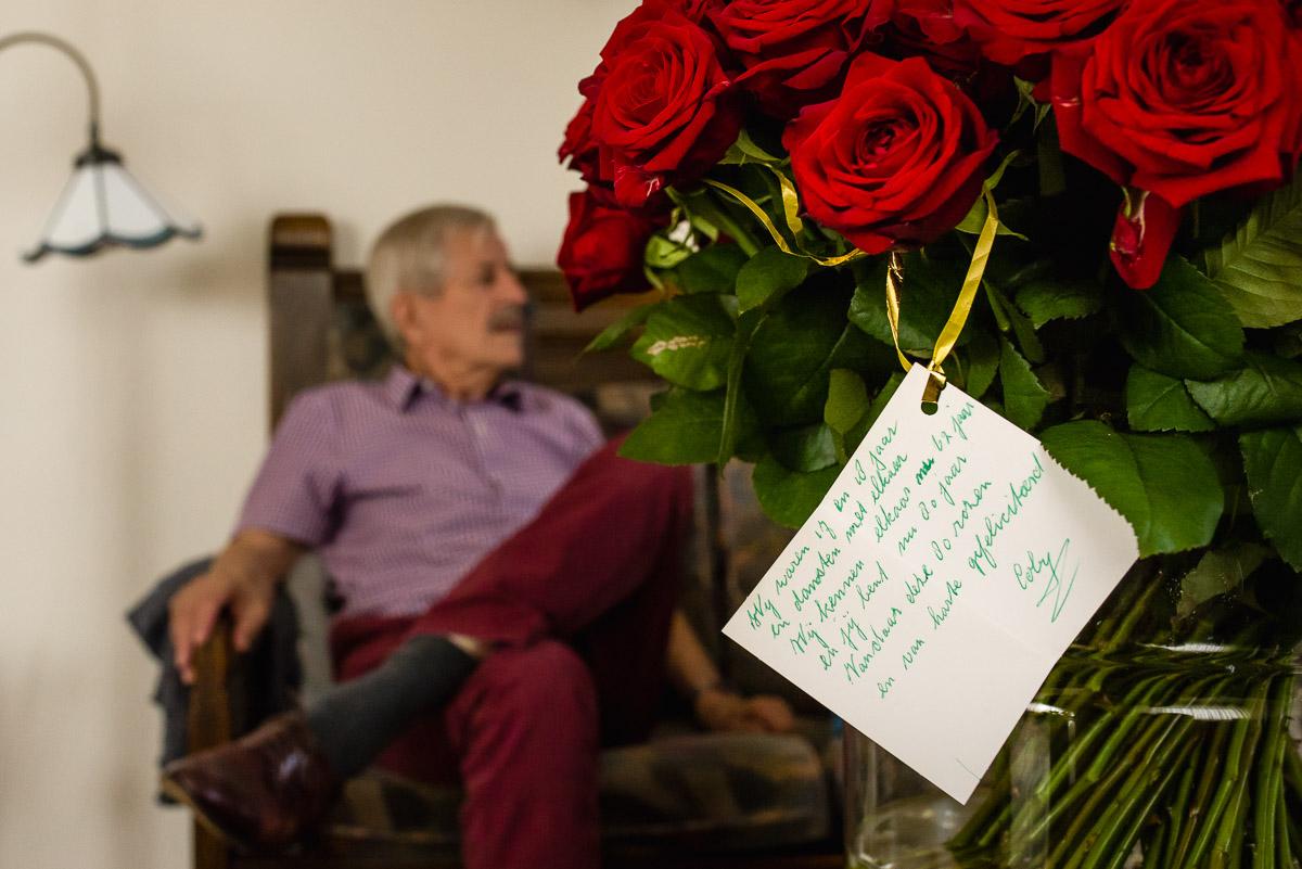 Verjaardagsreportage in Leiden, Day in the Life, documentaire familie fotografie, foto door Sandra Stokmans Fotografie