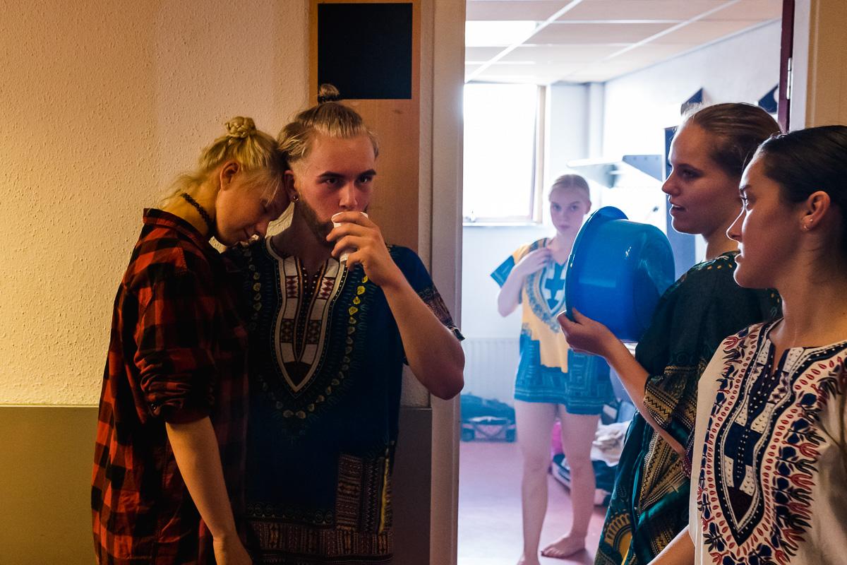 Skip Boekhorst achter de schermen dansvoorstelling, Albeda danscollege, Project Hartekind, Sandra Stokmans Fotografie