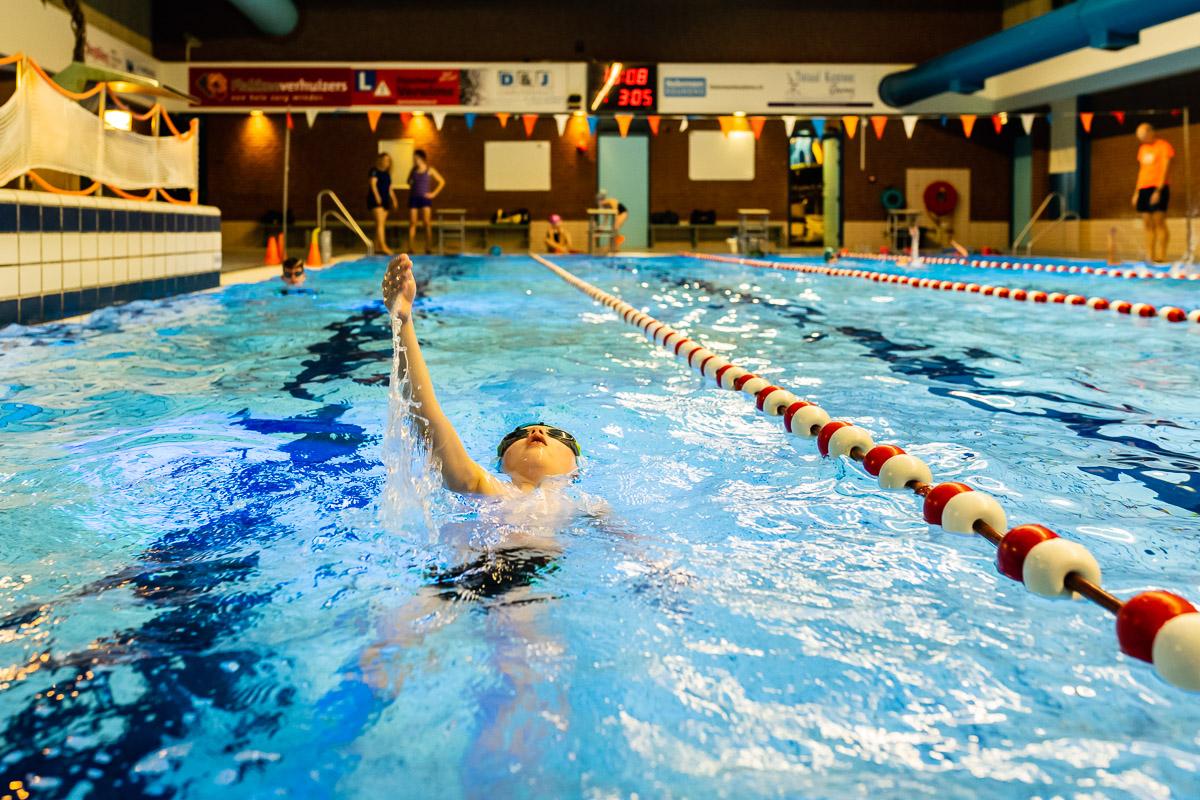 Zwemmen met aangeboren hartafwijking, documentaire fotografie voor project Hartekind, project van Sandra Stokmans Fotografie