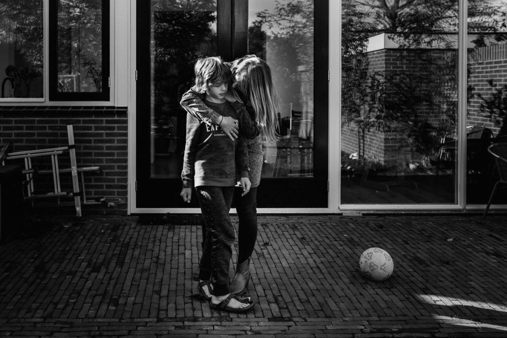 Mama knuffels zijn de beste, he Syb?!