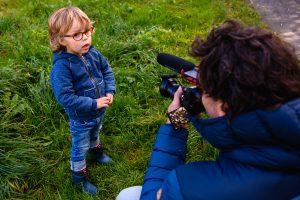 Mark Stokmans aan het werk: filmen Day in the Life Sandra Stokmans Fotografie