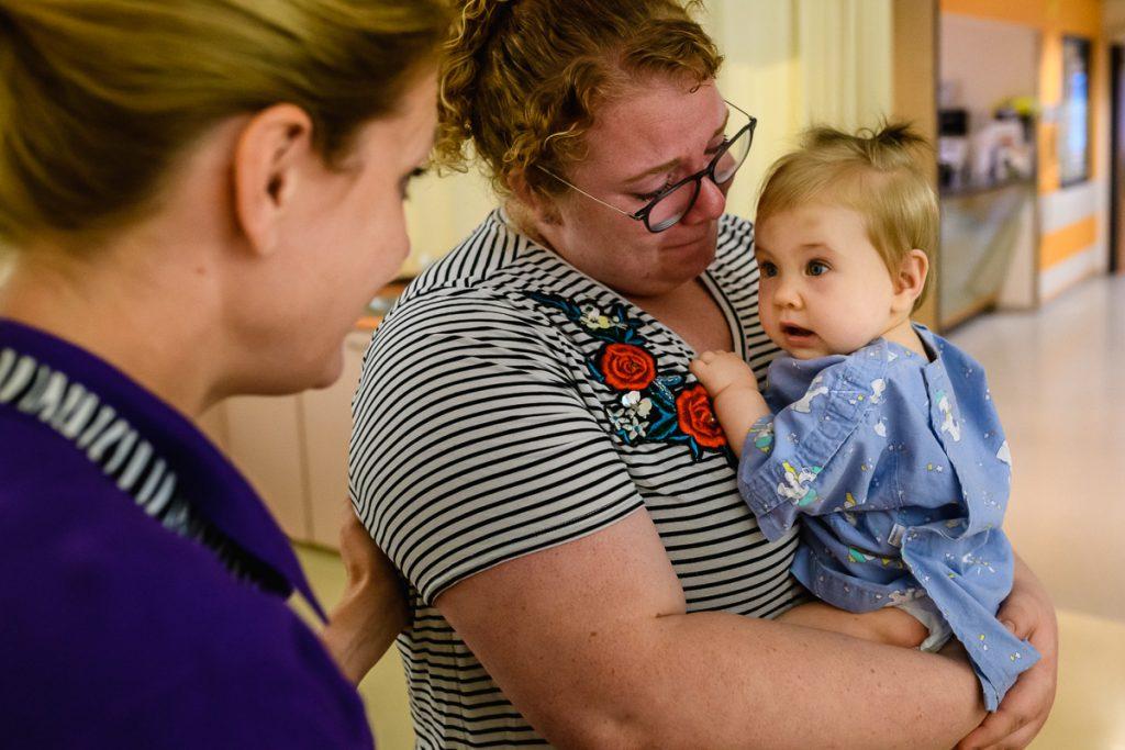 Ziekenhuisreportage - openhartoperatie van een Hartekind in het Wilhelmina Kinderziekenhuis (WKZ) in Utrecht. Foto door Sandra Stokmans Fotografie