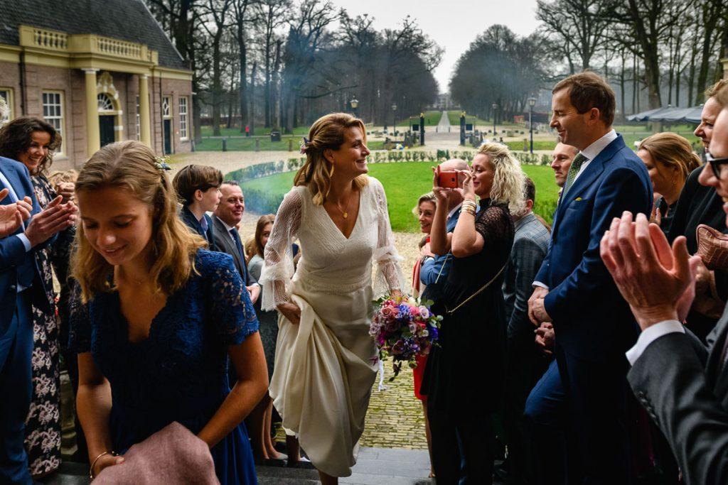 Huwelijksdag Ard en Marije