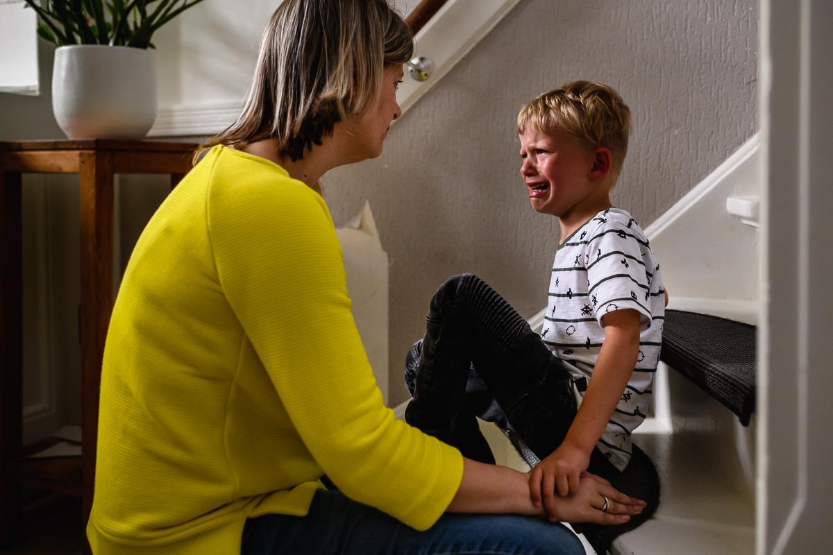 Dan gaat het, zoals bij elk gezin, eventjes niet zo lekker ..., familiefotografie Sandra Stokmans Fotografie